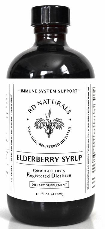 Elderberry Syrup 16oz