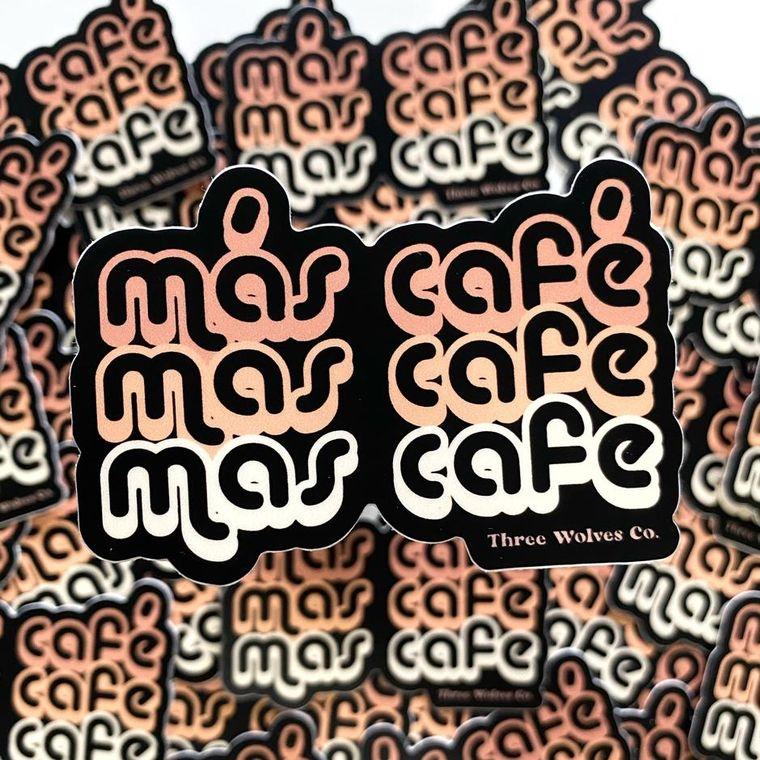 Mas Cafe Stickers