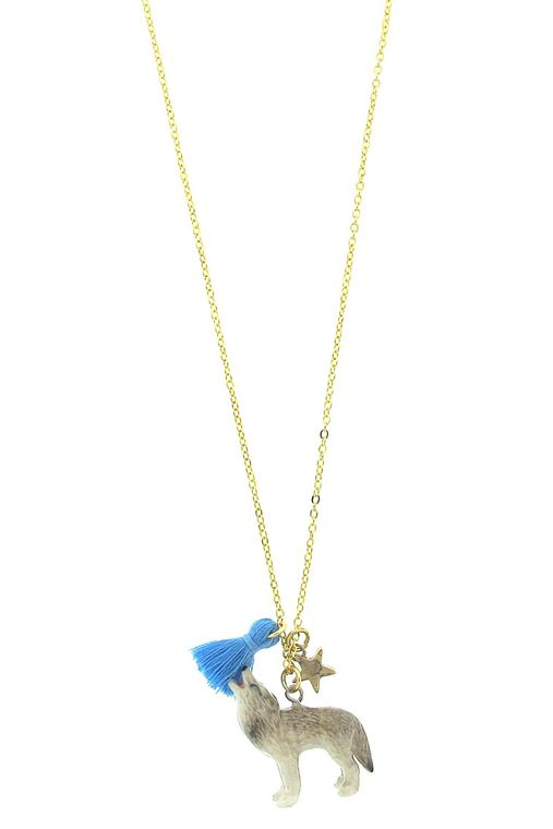 Wolf Lil' Critters Necklace