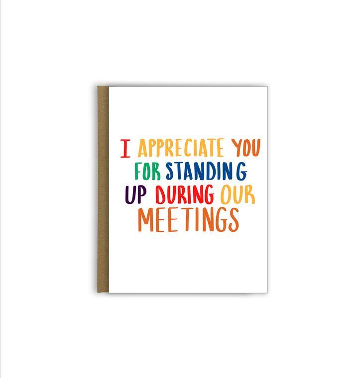 I Appreciate You Teacher Greeting Card