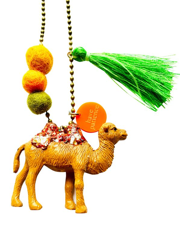 Charley the Camel Animal Buddy Necklace