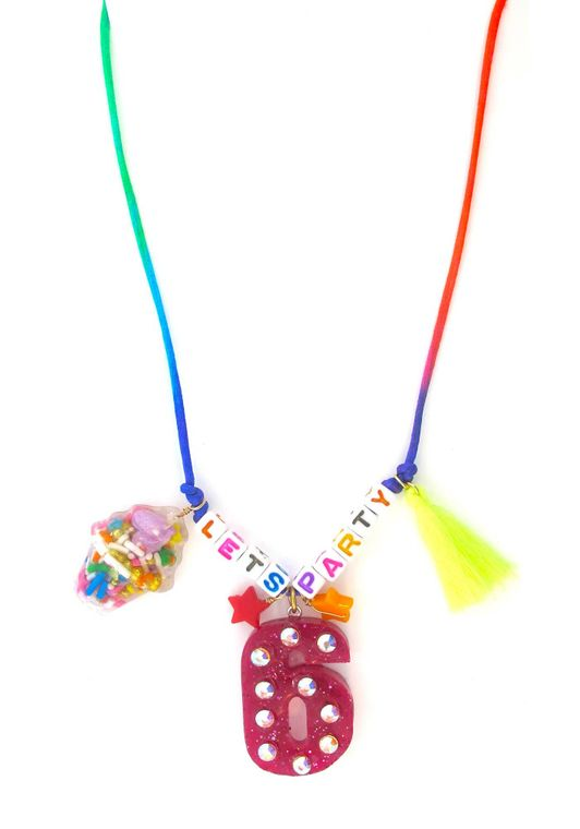 Red Birthday Necklace