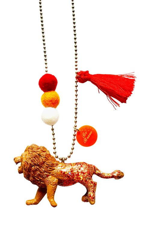 Lee the Lion Necklace Animal Buddy Necklace
