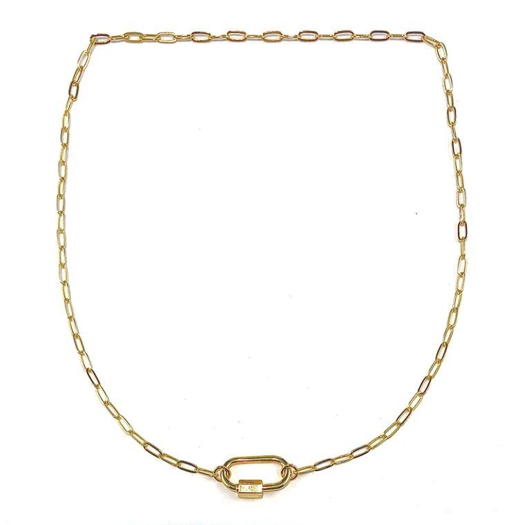 Perla Link Necklace