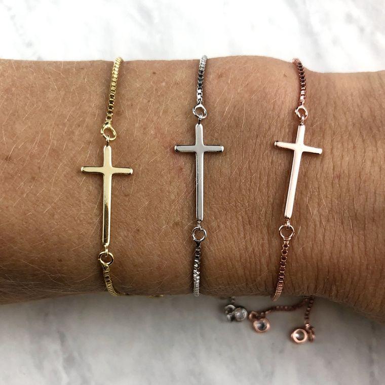 Cross Slider Bracelets