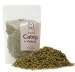 Organic Catnip + Valerian Root Blend USA Grown - Small (15g)
