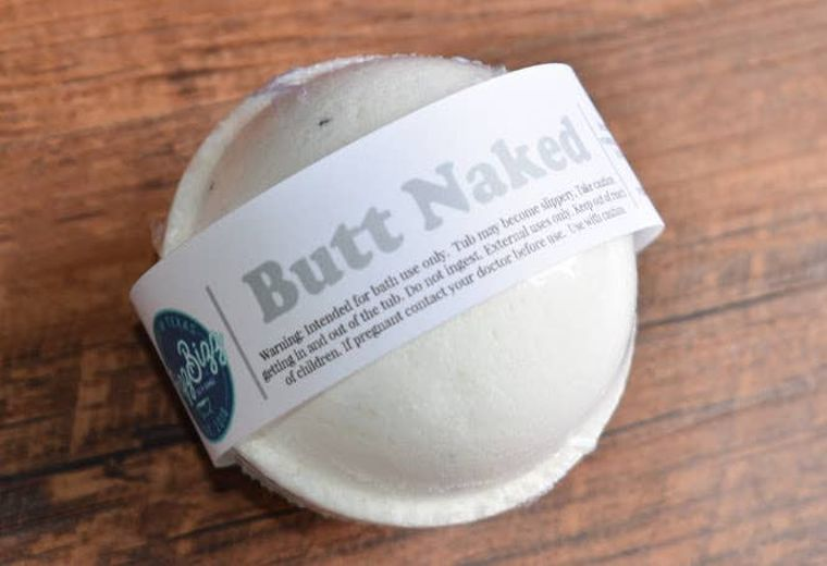 Butt Naked - Bath Bomb