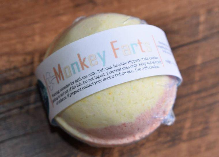 Monkey Farts - Bath Bomb