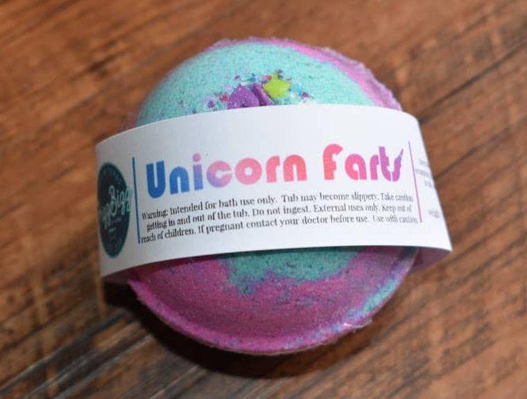 Unicorn Farts - Bath Bomb