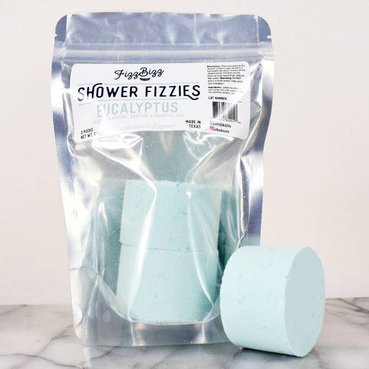Eucalyptus Fizzies - Shower Melts
