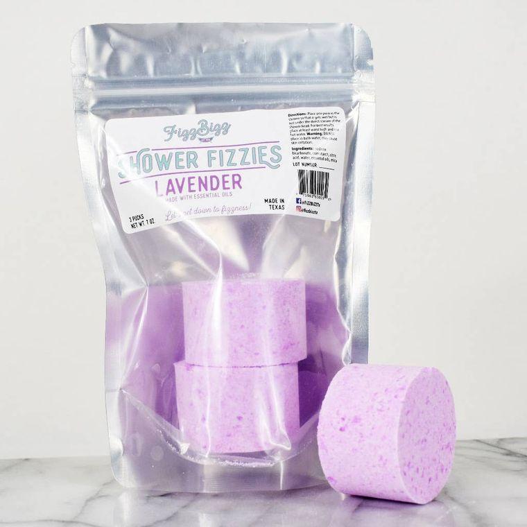 Lavender Fizzies - Shower Melts