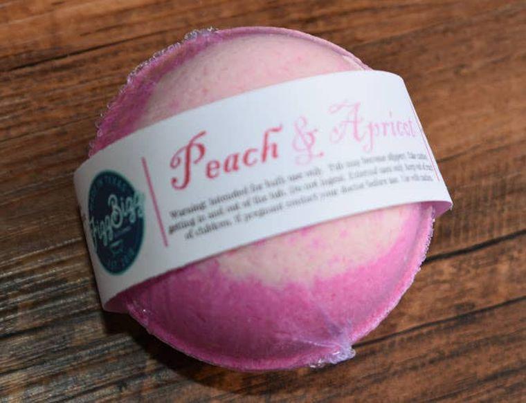 Peach and Apricot - Bath Bomb