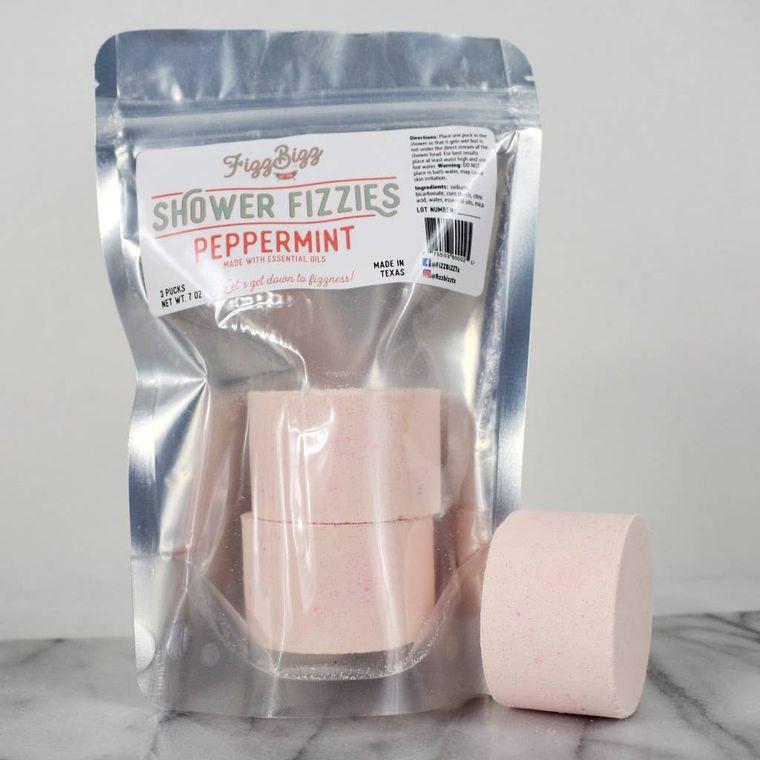 Peppermint Fizzies - Shower Melts