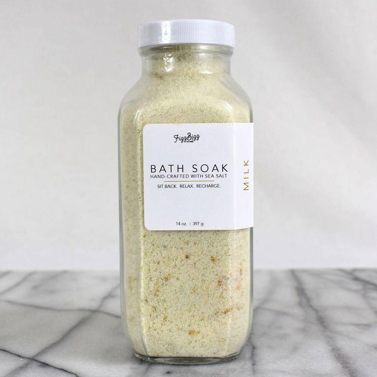 Milk Premium Bath Salts