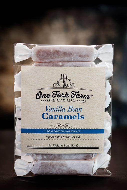 4oz. Vanilla Bean Caramels