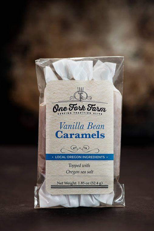 1.8oz. Vanilla Bean Caramels