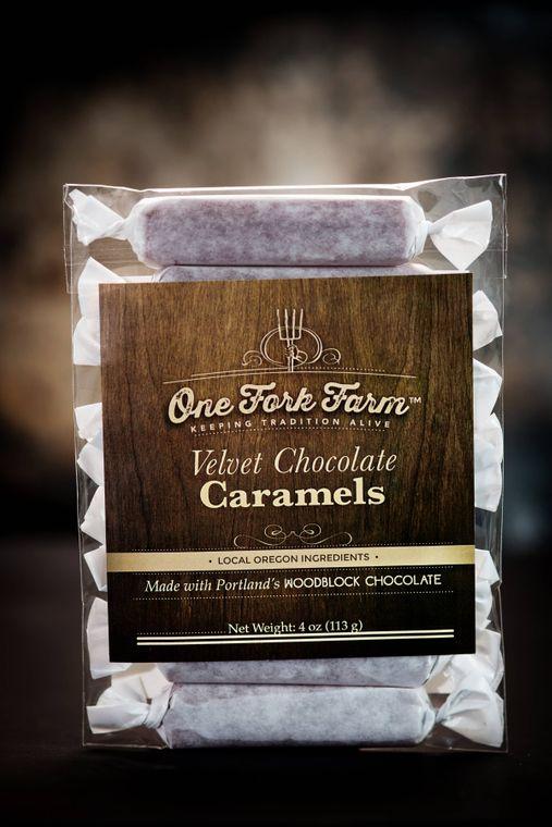 4oz. Velvet Chocolate Caramels