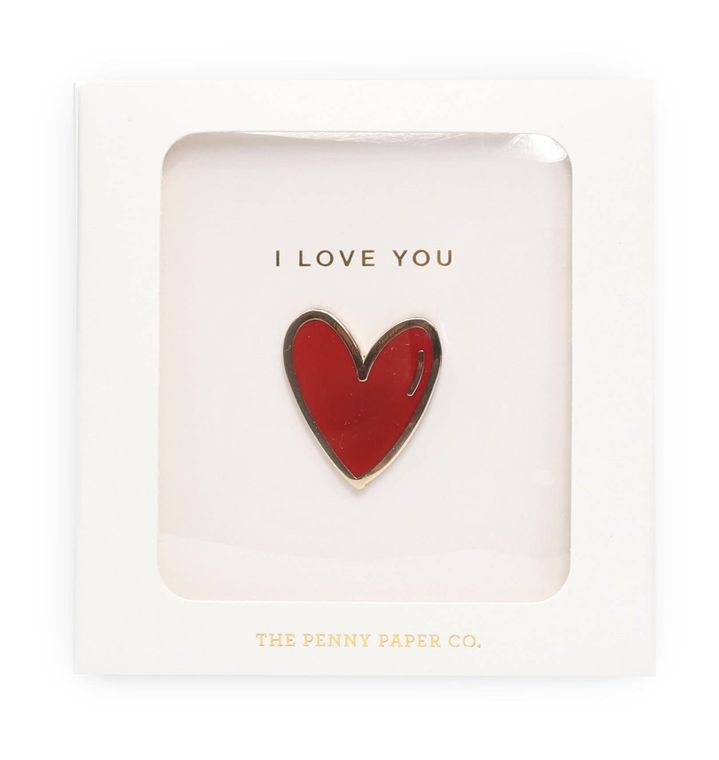 Enamel Pin Gift Set, I Love You