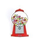 Enamel Pin, Gumball Machine