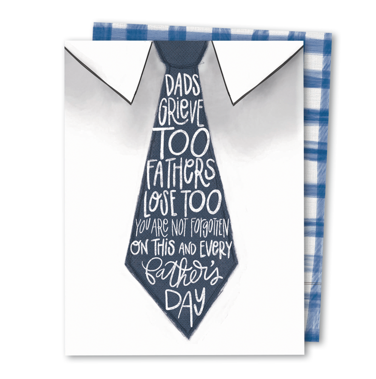 Dads Grieve Too • Noble Greeting Card