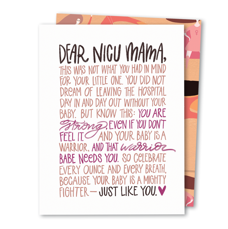 Dear NICU Mama • Noble Greeting Card
