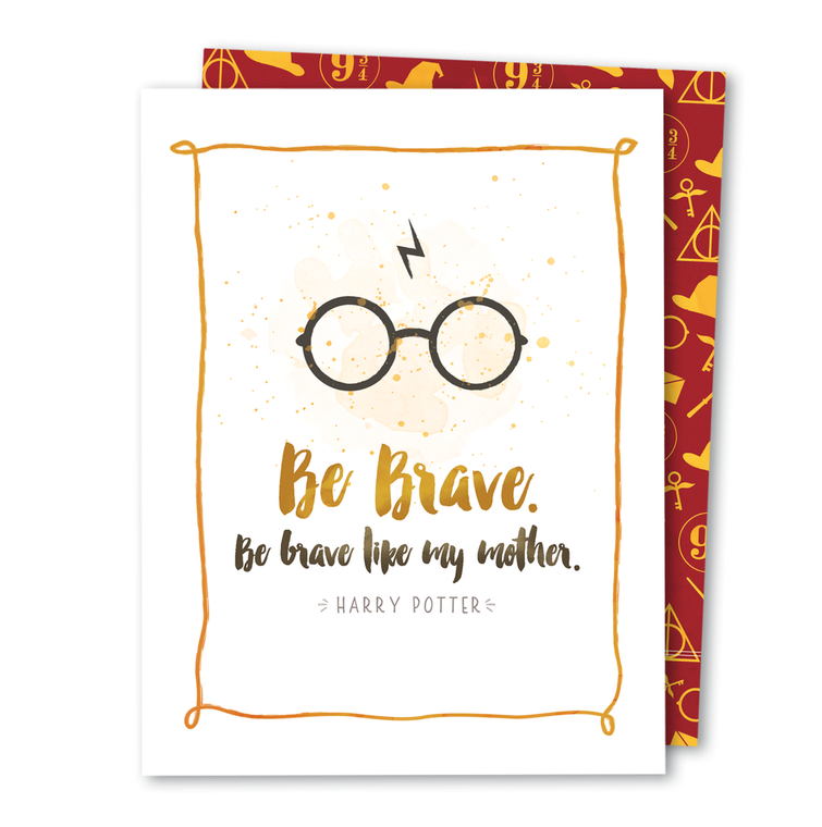 Be Brave • Noble Greeting Card