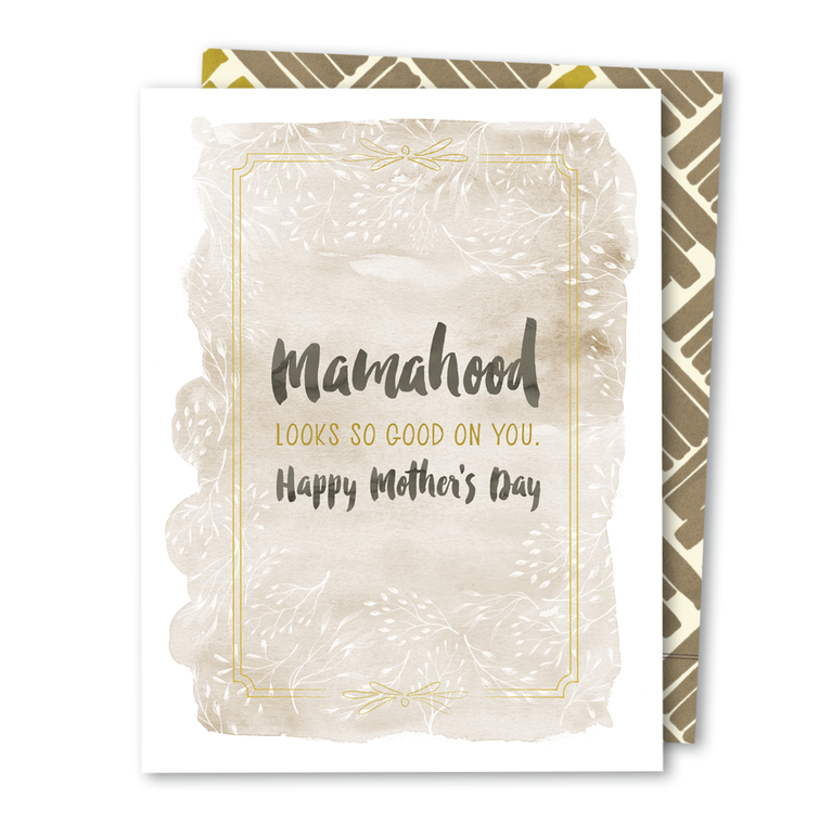 Mamahood • Noble Greeting Card