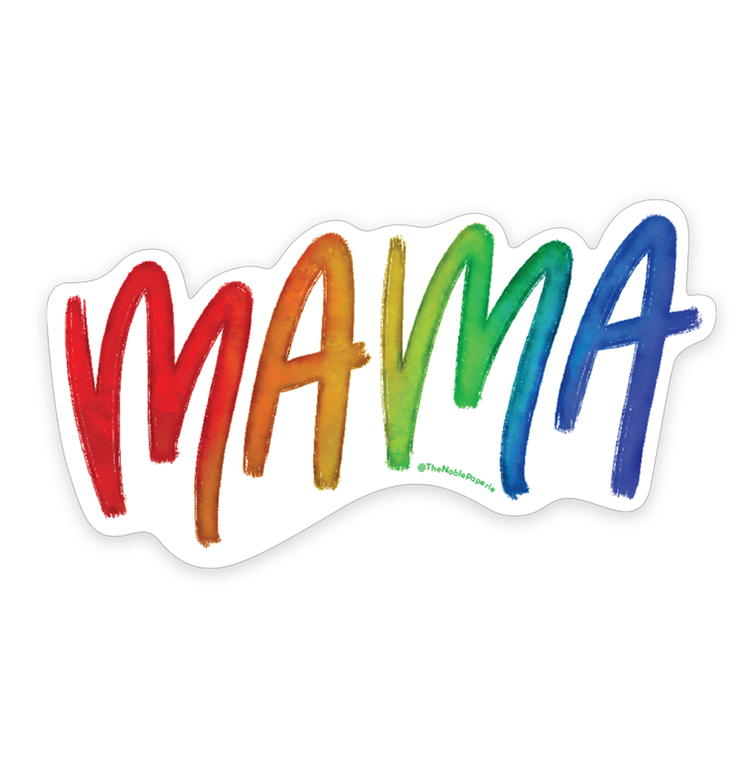 "Mama Pride • 3"" Noble Die-Cut Sticker"