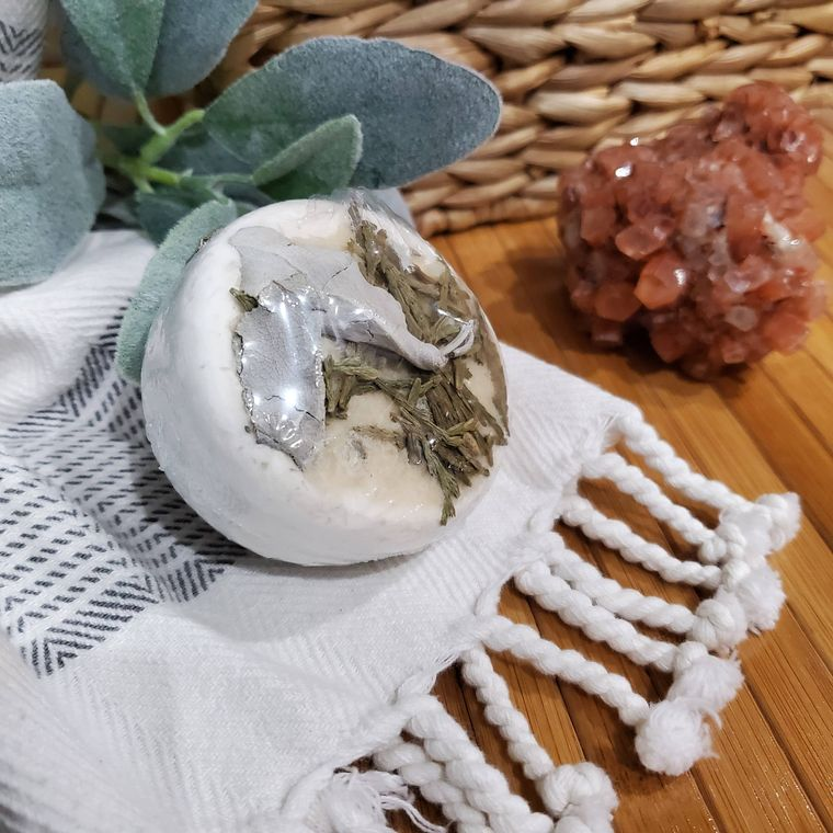 CLEANSING SAGE (ALL-NATURAL) BATH BOMB