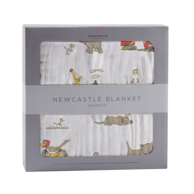 Are You My Mother? Newcastle Blanket