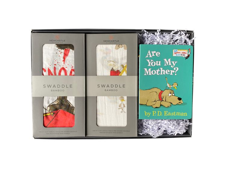 Are You My Mother? Swaddle Gift Set (w/Book)