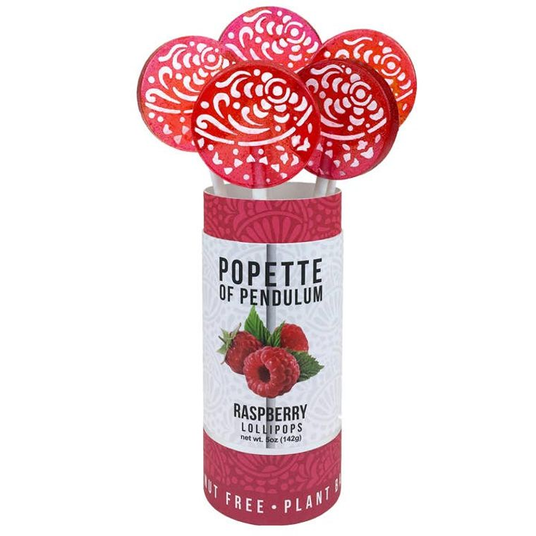 Raspberry Lollipop Canister