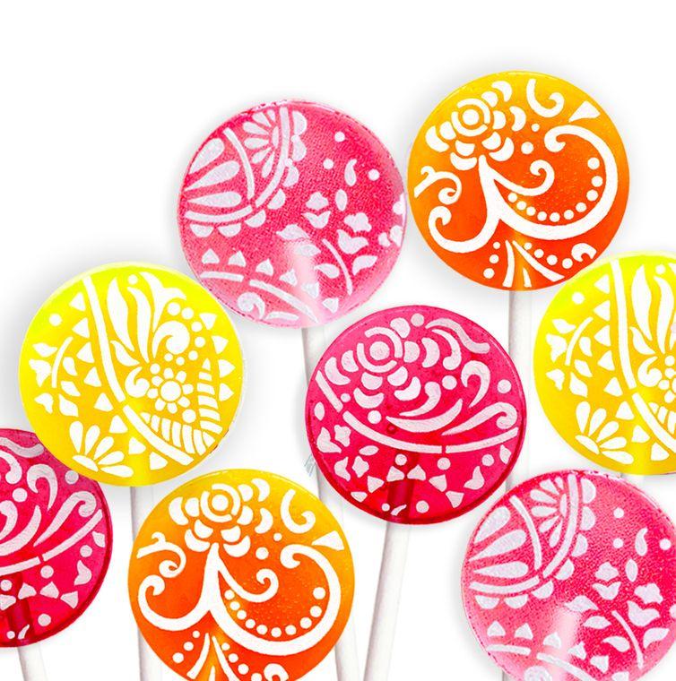 Mixed Fruity Flavor Lollipop Refill Pack