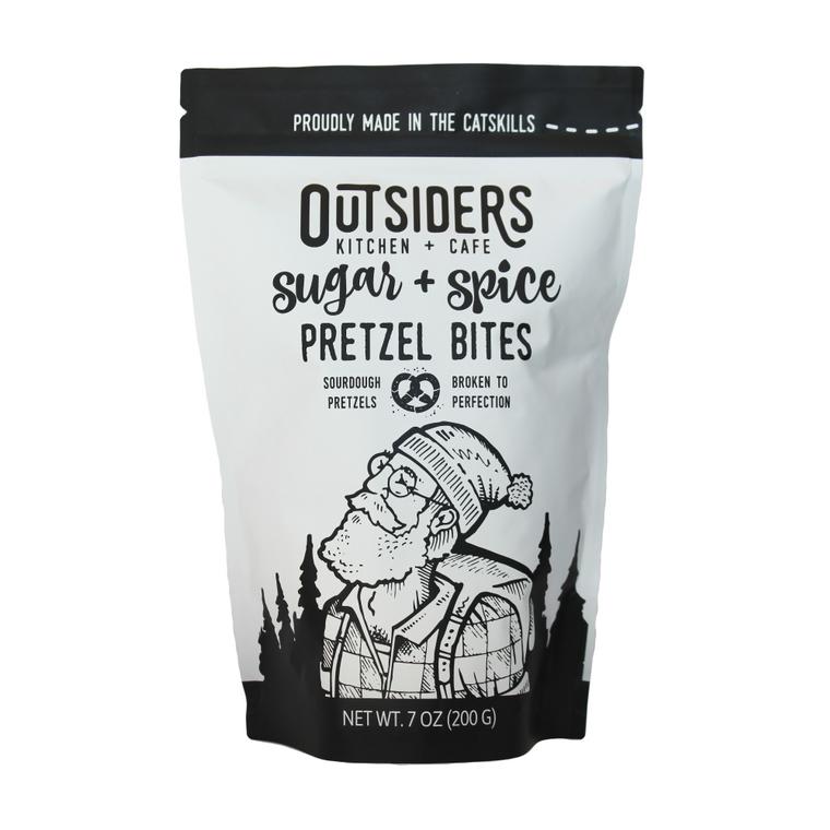 Sugar + Spice Pretzel Bites