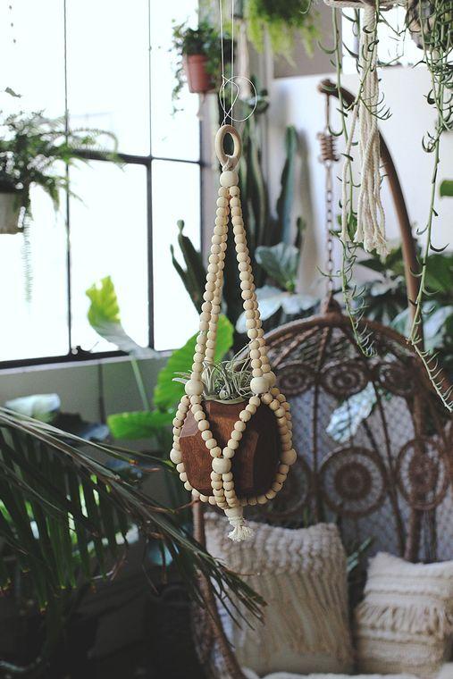 Beaded Plant Hanger