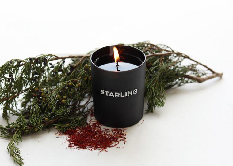 Juniper + Saffron Candle