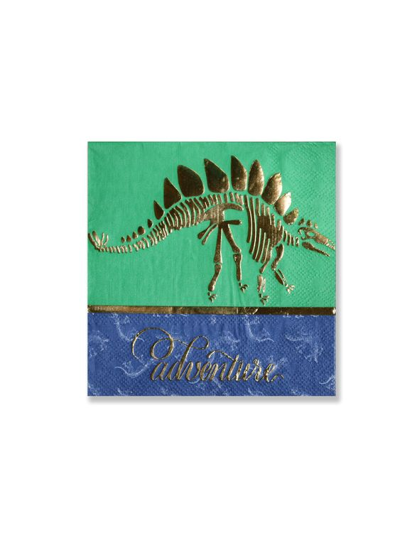 CLEARANCE SALE - Dinosaur Party Napkins - Themed Party Supplies