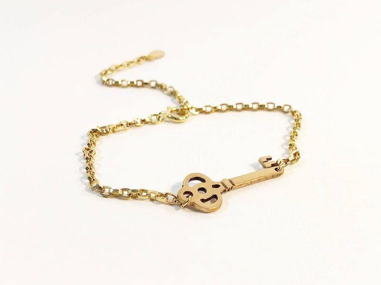 Key to the Universe Charm Bracelet