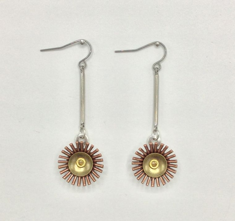 Mid Century Inspired Earrings - 3466