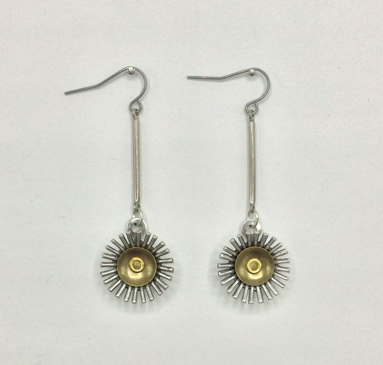 Mid Century Inspired Earrings - 3465