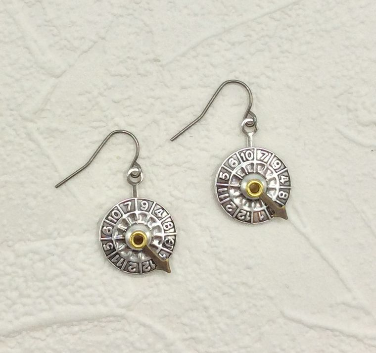 Wheel of Fortune Earrings - 3464