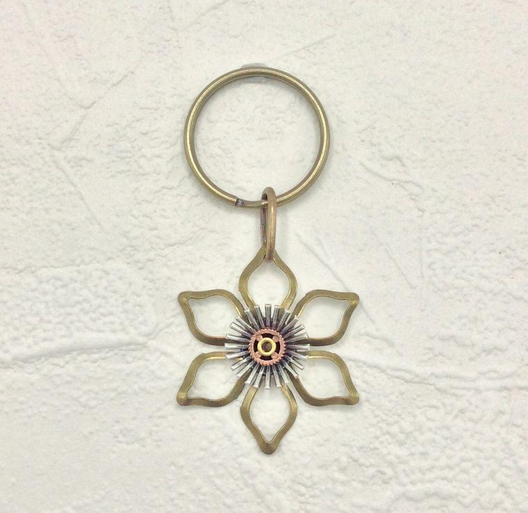 flower key ring - K23