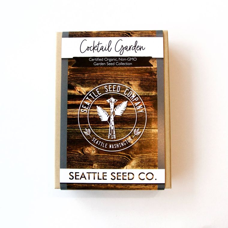 Organic Seed Collection - Cocktail Garden
