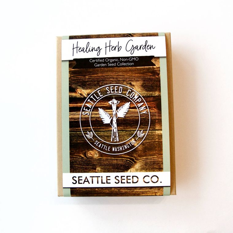 Organic Seed Collection - Healing Herb Garden