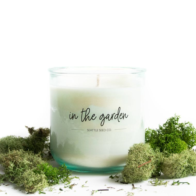 In the Garden // 9oz Soy Wax Candle
