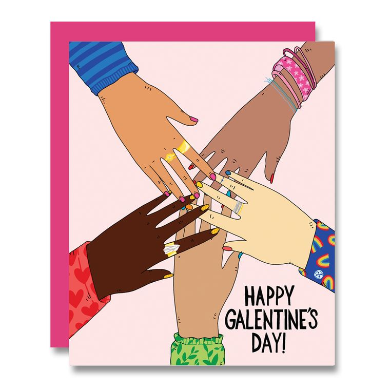 Happy Galentine's Day, Valentine's Day Card