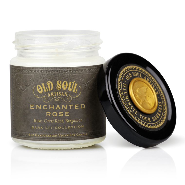 Enchanted Rose - 4 ounce soy candle