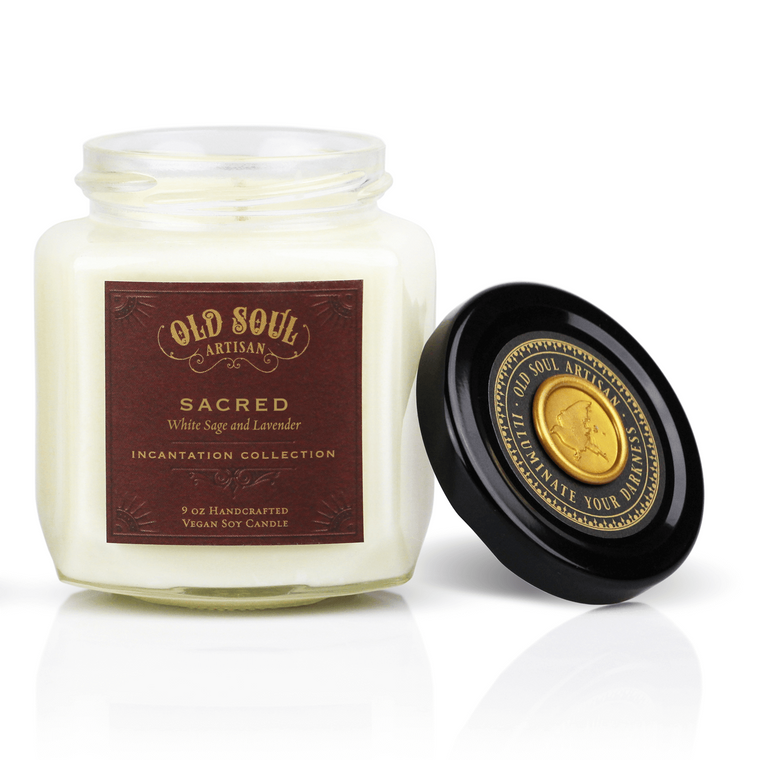 Sacred - 9 ounce soy candle