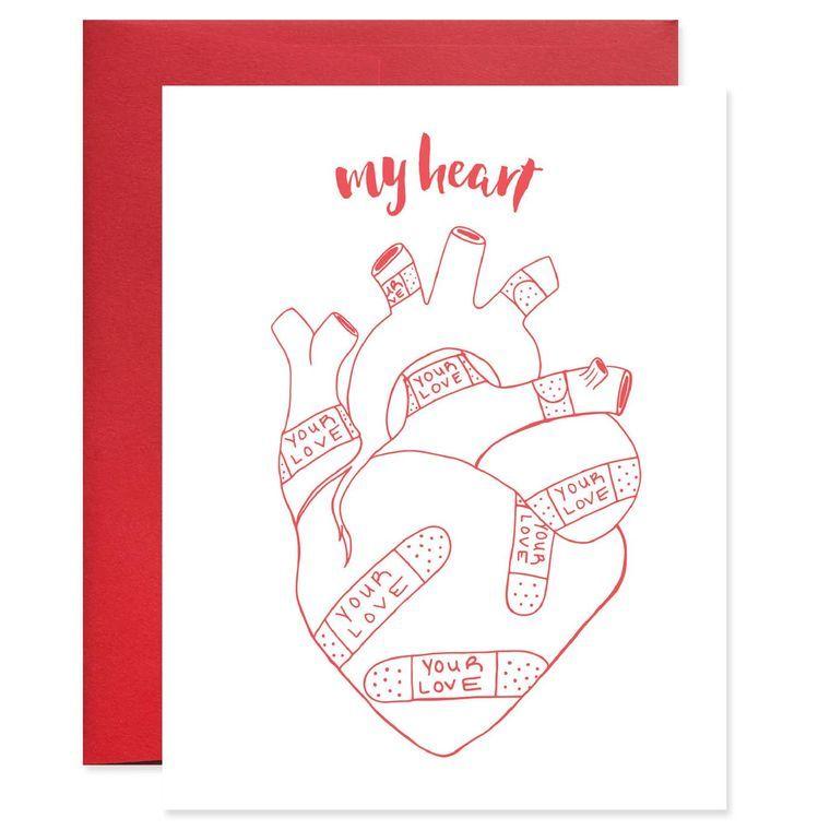 My Heart Your Love Card
