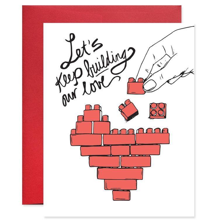 Lego Love Card